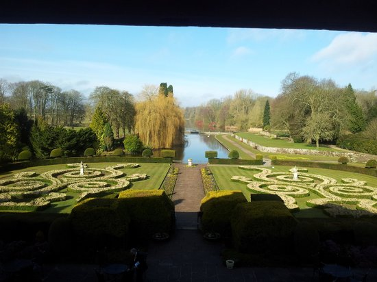 Coombe Abbey Hotel: The view again...