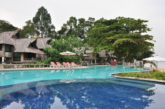 Sunset Park Resort & Spa: from the pool