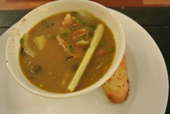 Impiana Resort Cherating: Room service - oxtail soup