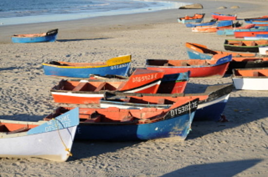 Paternoster fishermen boats
