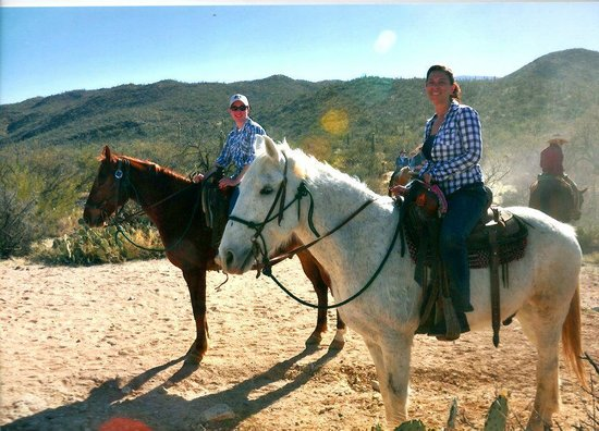 Tanque Verde Ranch: Breakfast ride
