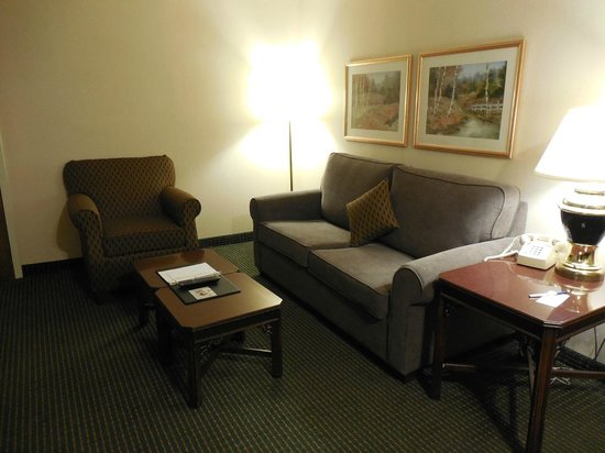 Comfort Inn, Clemson: Suite Living Area