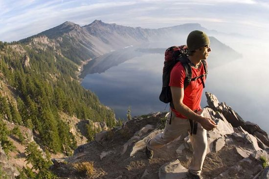 Oregon: Hiking Crater Lake