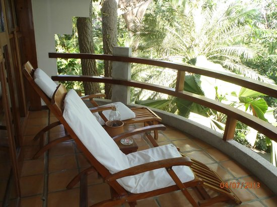 Hotel Capitan Suizo : Balcony 