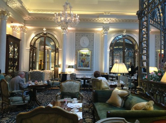 The Savoy : Tea Room where Breakfast and High Tea are served