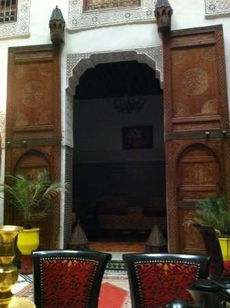 Riad Dar Dmana : zona relax 