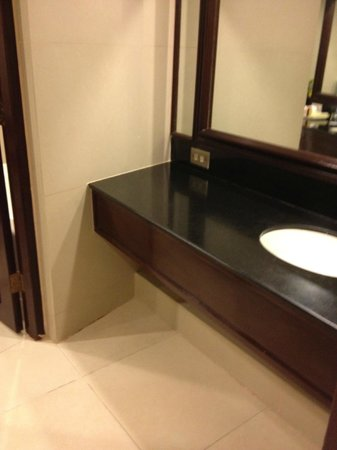 Dusit Thani Manila: bathroom1