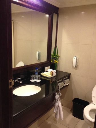 Dusit Thani Manila: bathroom2