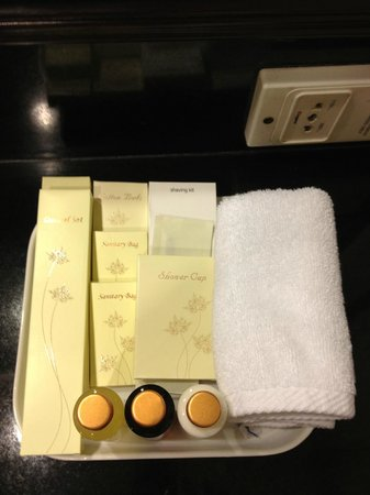 Dusit Thani Manila: Toiletries