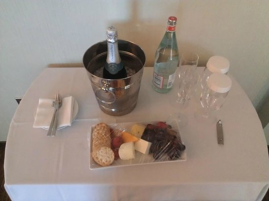 The Westin New York at Times Square: Talk about feeling special