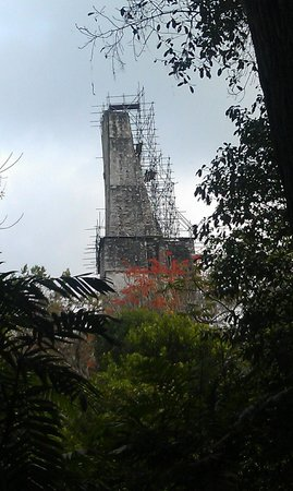 Hotel Tikal Inn: Another Pyramid being Resurrected from Jungle