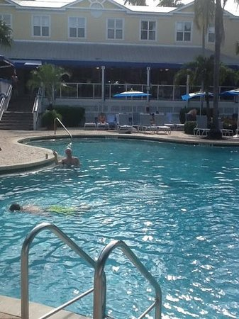 Sheraton Suites Key West: michael at the sheraton pool!