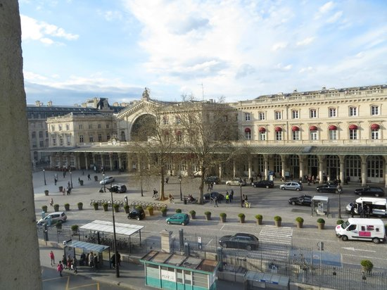 Holiday Inn Paris-Gare de L'Est: View from Hotel Room Window