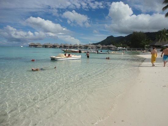 Sofitel Moorea Ia Ora Beach Resort: la playa