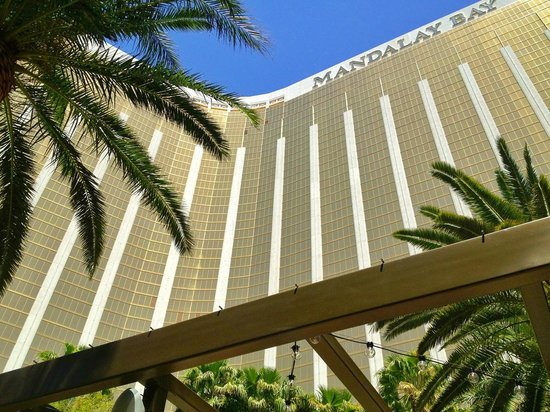 Four Seasons Hotel Las Vegas: The Mandalay Bay base for the 4S on top floors