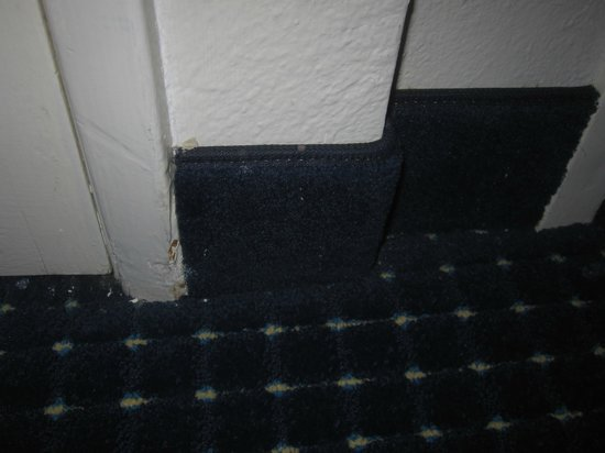 Residence Inn Anaheim Maingate: Where the carpet meets the wall was not vacuumed well.