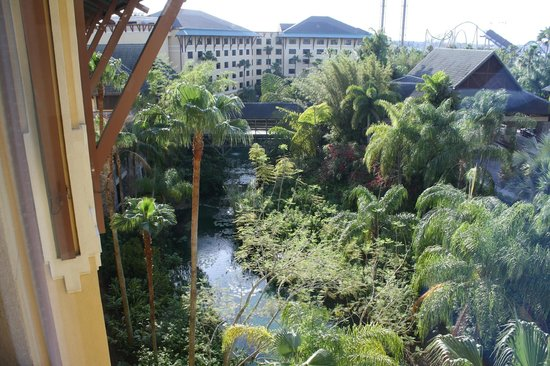 Loews Royal Pacific Resort at Universal Orlando: view from room