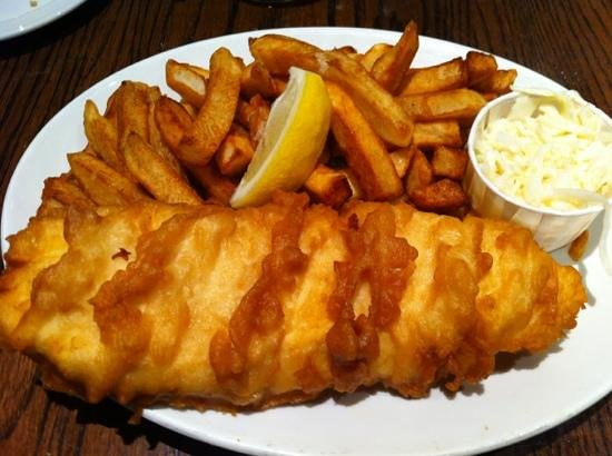 Olde yorke fish chips toronto restaurant reviews for Fish and chips london