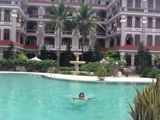 Indochine Hotel: great pool