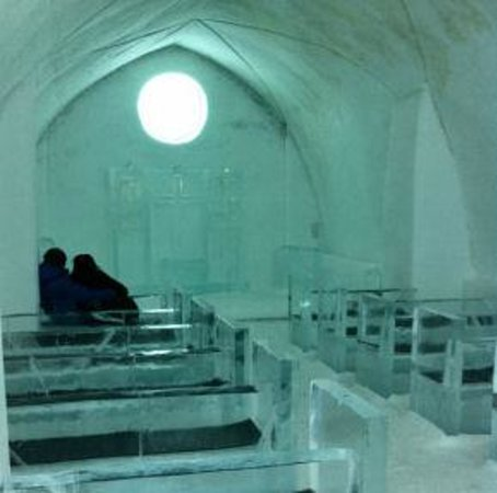 Icehotel church Kiruna