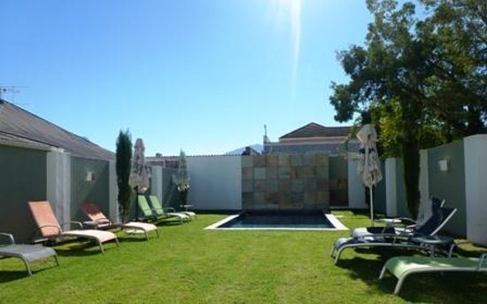 Tulbagh Hotel: The Beautiful Poolside...