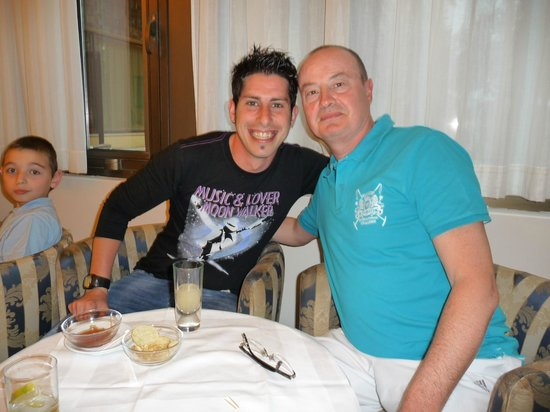 Club Lipari Hotel: Patrick et Michael