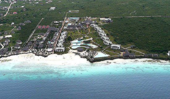 Royal Zanzibar Beach Resort: An Aerial View