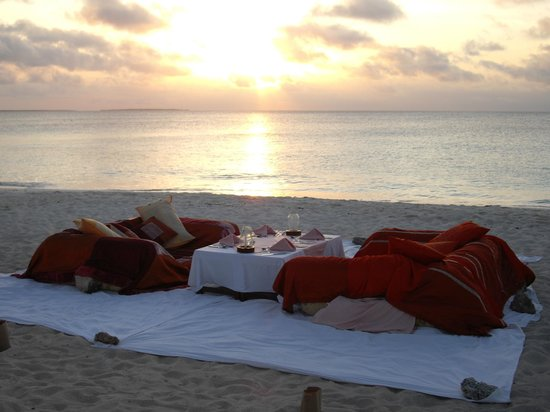 Royal Zanzibar Beach Resort: The Most Romantic Dinner Setting!