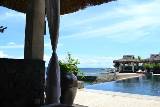 Abaca Boutique Resort: in the cabana