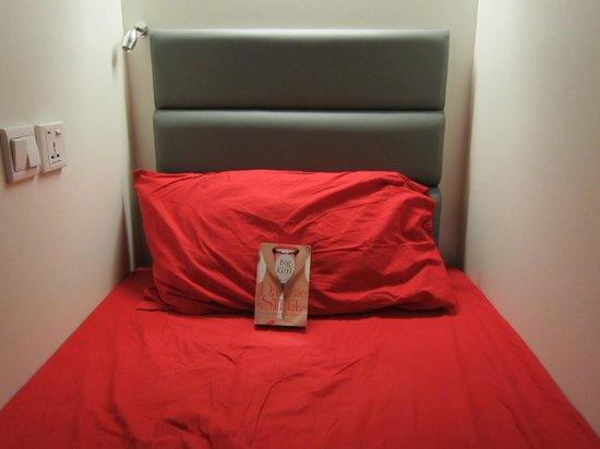 @ Little Red Dot: Inside the capsule bed