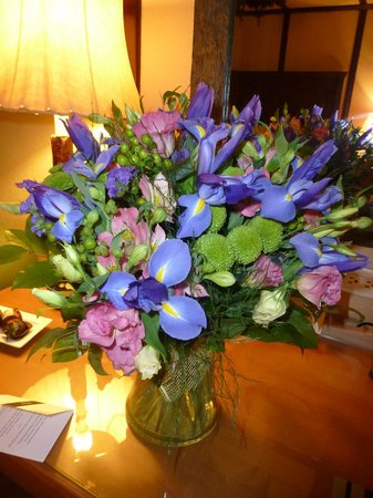 Fairmont Le Chateau Montebello: Flowers I ordered