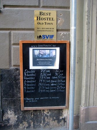 Best Hostel Old Town:  