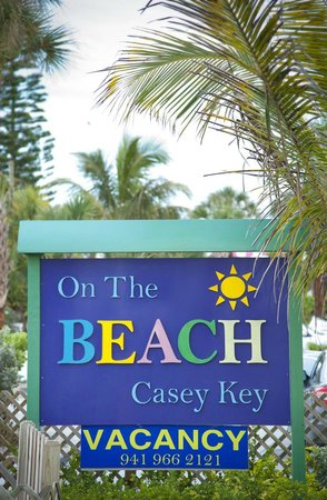 Nokomis, FL: When you see this sign...you know you are there!