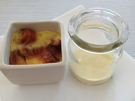 Fusion Maia Resort: Creme Brulee - part of the Western ala carte breakfast