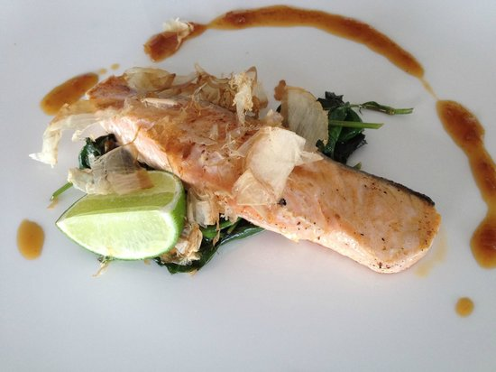Fusion Maia Resort: Salmon Steak - from the Buffet selection