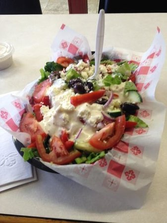 North Kingstown, RI: Greek salad