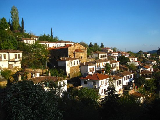 Terras Evler - Terrace Houses Sirince: This is the view from our bedroom at Olive House.