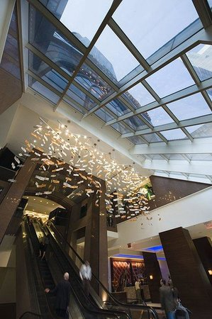 Crowne Plaza Times Square Manhattan: Lobby Atrium of our New York City Hotel