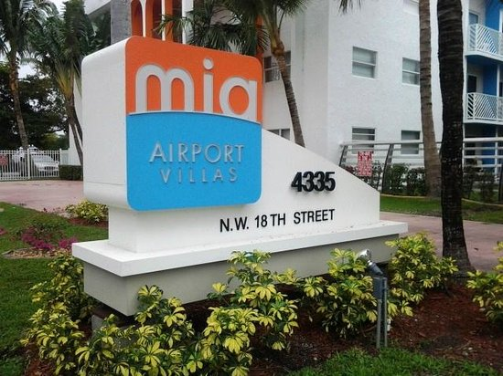 Mia Airport Villas: Thoughtful, well designed features are part of are recent renovations