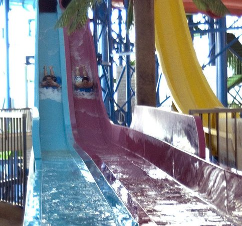 Crowne Plaza Niagara Falls - Fallsview: Fallsview Indoor Waterpark Extreme Slides