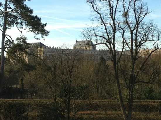 Trianon Palace Versailles, A Waldorf Astoria Hotel : View from room 301