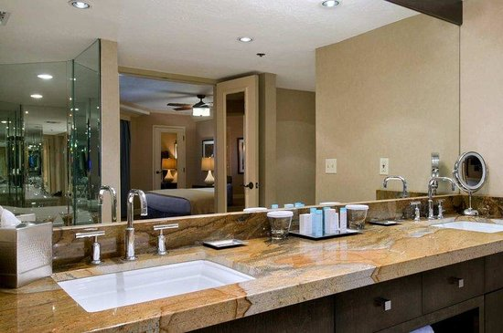 Hilton Phoenix East / Mesa: Presidential Suite Bathroom