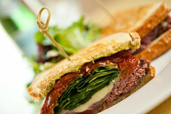 Shawnee Mission, KS: Pesto Roast Beef Sandwich