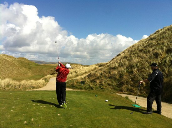 Ballybunion, Ireland: Most of the fairways aren't this tight!