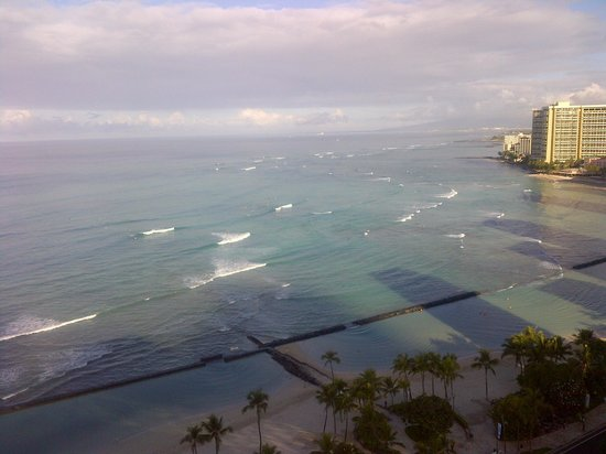 Waikiki Beach Marriott Resort &amp; Spa: View from the hotel room