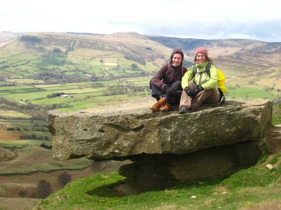 Hathersage, UK: The Great Ridge walk, Peak District