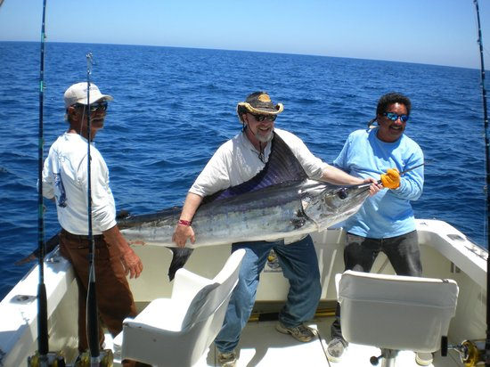 Marina Fiesta Resort & Spa: Fishing was great!