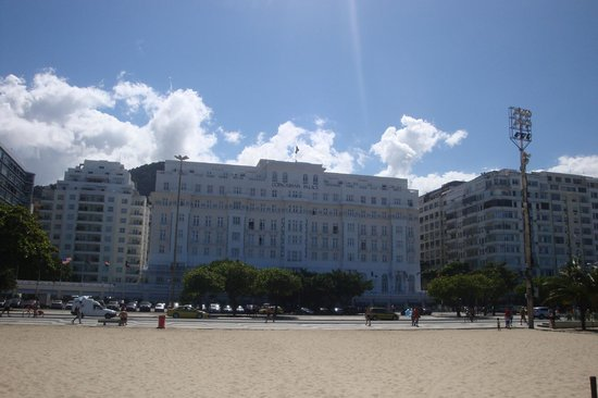 Copacabana Palace Hotel by Orient-Express: View from the Beach