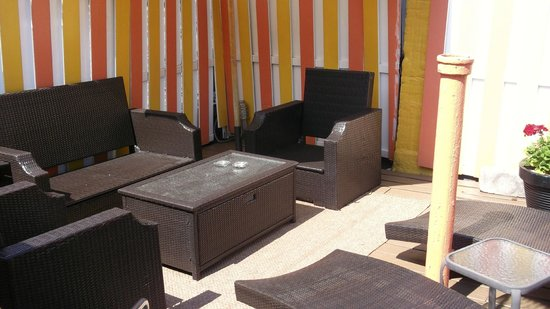 Colonial House Inn: Roof terrace