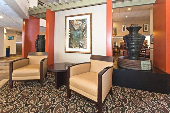 Holiday Inn Express Scottsdale - Old Town: Hotel Lobby Fountains